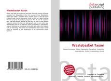 Buchcover von Wastebasket Taxon