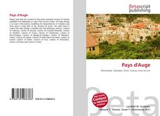 Bookcover of Pays d'Auge