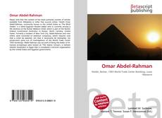 Bookcover of Omar Abdel-Rahman