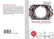 Bookcover of Allemagne-en-Provence