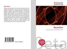 Raumism kitap kapağı