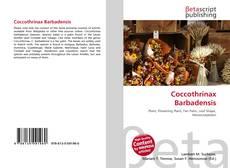 Coccothrinax Barbadensis kitap kapağı