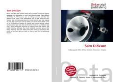 Capa do livro de Sam Dickson