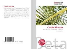 Cordia Africana kitap kapağı