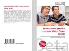 Capa do livro de Formula One (Studio Liverpool Video Game Series)
