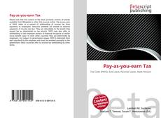 Bookcover of Pay-as-you-earn Tax