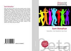 Bookcover of Sam Donahue