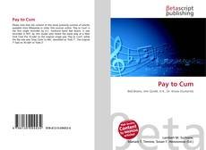 Bookcover of Pay to Cum