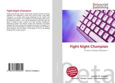 Bookcover of Fight Night Champion