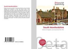 Copertina di South Herefordshire