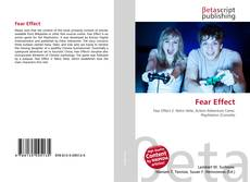 Fear Effect的封面