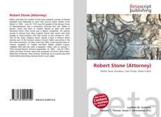 Portada del libro de Robert Stone (Attorney)