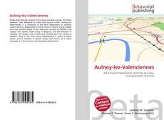 Buchcover von Aulnoy-lez-Valenciennes