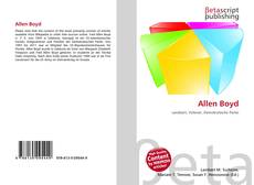Bookcover of Allen Boyd