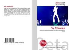Bookcover of Pay Attention