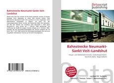 Bahnstrecke Neumarkt-Sankt Veit–Landshut kitap kapağı