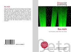 Bookcover of Rav Ashi