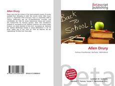 Bookcover of Allen Drury