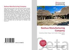 Nashua Manufacturing Company kitap kapağı