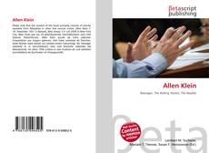 Portada del libro de Allen Klein