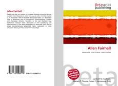 Capa do livro de Allen Fairhall