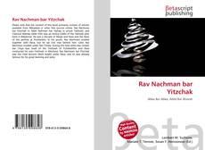 Bookcover of Rav Nachman bar Yitzchak