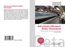 Bookcover of Bahnstrecke Offenbach-Bieber–Dietzenbach