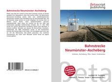 Bookcover of Bahnstrecke Neumünster–Ascheberg