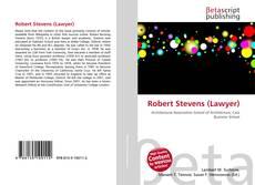 Couverture de Robert Stevens (Lawyer)