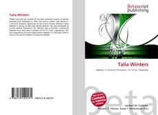 Capa do livro de Talia Winters