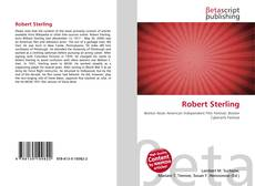 Bookcover of Robert Sterling