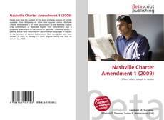 Couverture de Nashville Charter Amendment 1 (2009)