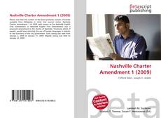 Bookcover of Nashville Charter Amendment 1 (2009)