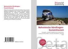 Borítókép a  Bahnstrecke Nördlingen–Gunzenhausen - hoz