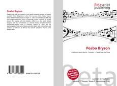 Bookcover of Peabo Bryson