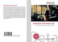 Portada del libro de Omission (Criminal Law)