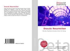 Bookcover of Dracula: Resurrection
