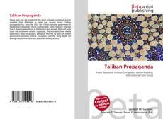 Copertina di Taliban Propaganda