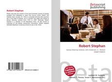 Bookcover of Robert Stephan