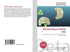 Couverture de Disney Sing It: Family Hits