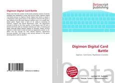 Обложка Digimon Digital Card Battle