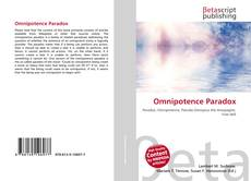 Bookcover of Omnipotence Paradox