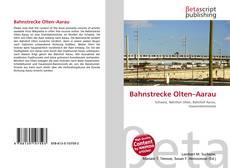 Buchcover von Bahnstrecke Olten–Aarau