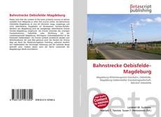Buchcover von Bahnstrecke Oebisfelde–Magdeburg