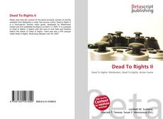 Bookcover of Dead To Rights II