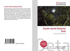 Portada del libro de South Island National Park