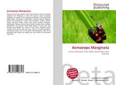 Buchcover von Acmaeops Marginata