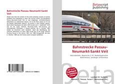 Bahnstrecke Passau–Neumarkt-Sankt Veit kitap kapağı