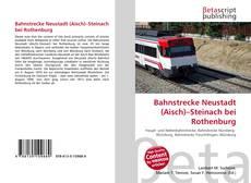Bookcover of Bahnstrecke Neustadt (Aisch)–Steinach bei Rothenburg