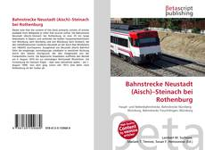Borítókép a  Bahnstrecke Neustadt (Aisch)–Steinach bei Rothenburg - hoz